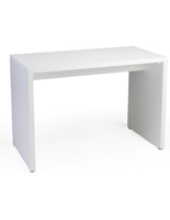 Modern White Nesting Retail Display Console