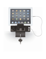 Tablet Holder with Charging Hub with Desk Clamp