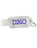 1.8oz Custom Hand Sanitizer Clip