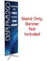 Portable Banner Stand without Graphic