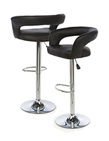 Pneumatic Bar Stool with Modern Style Seat