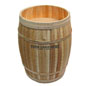 Cedar Custom Retail Display Barrel