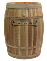 Dry Goods Barrel for Rustic Shops