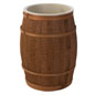 Rustic Wooden Food Grade Barrel