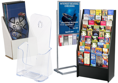 Brochure Holders Literature Racks amp Flyer Stands