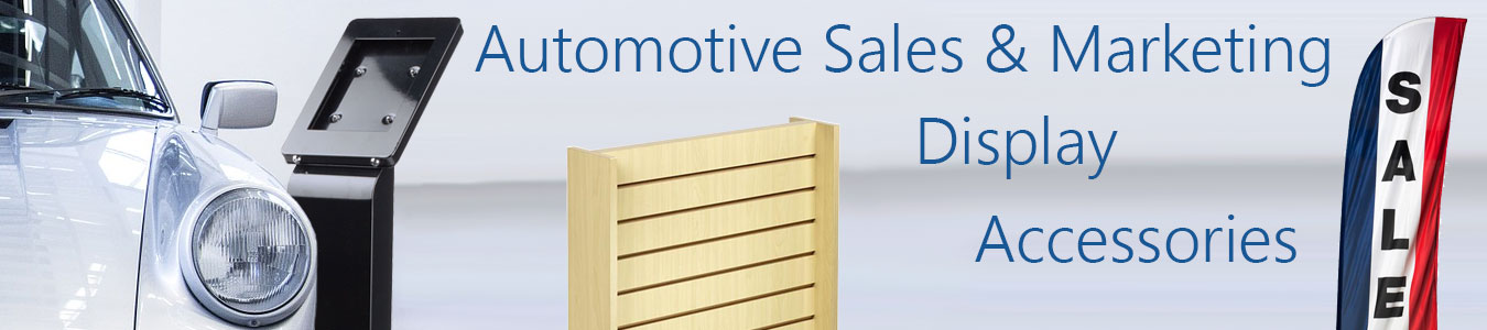 Car Dealership Display Fixtures | Advertising Stands & Accessories