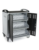 Tablet Storage and Charge Cart with 36 Slots