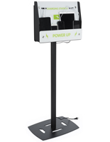 Floor Standing Mobile Charging Stand for Lobbies