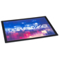 Black 18 x 24 Counter Mat Sign Holder