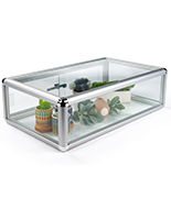 Economy Aluminum Countertop Showcase