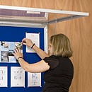 Cork Boards Offer Many Display Configurations