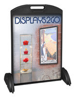 24 x 36 Sidewalk Sign with Printed Boards, Floor Standing