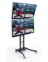 Dual Mount Digital Signage Tower