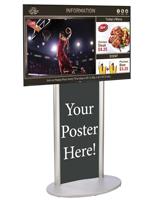 Digital Poster Signage Kit for Interactive Promotions