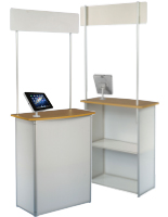 Exhibition Counter with iPad Holder
