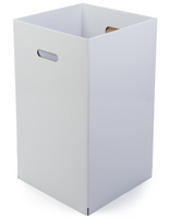 White Cardboard Display Box