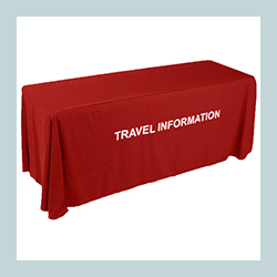 custom trade show tablecloths