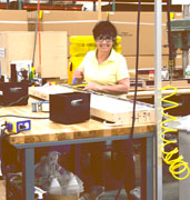 displays2go production worker