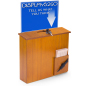 Wall Mounted Suggestion Box with Sign Holder for Offices