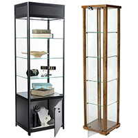 Tall Display Cabinets Selection