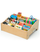Desktop Kids Art Supply Storage