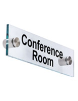 """Conference Room"" Sign, Clear"