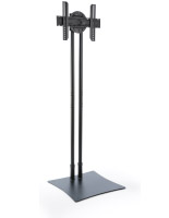 Exhibition TV Stand with Rotating Bracket