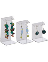 Clear Acyrlic Small Earring Holder