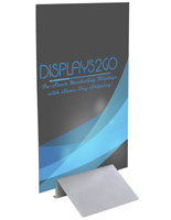 Foam Poster Board Stand, Custom Graphics