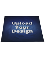 Square branded floor decal sticker with custom artwork