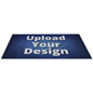 Trade show rectangular floor stick-on decal with UV digital printing