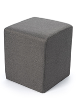 Multi-use cube ottoman seating for events or lounge spaces