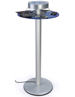 Charging Pub Height Table with 6 Power Cables