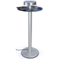 Silver Charging Pub Height Table