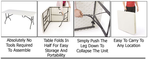 Folding Table Features