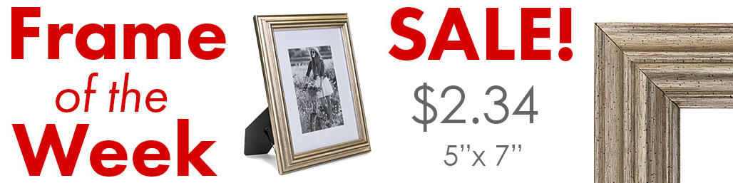 closeout speckled gold picture frame sale
