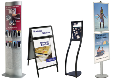 floor poster stands - Wholesale Poster Frames