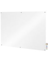 Glass Dry-Erase Board, Wall-Mounting