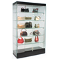 Modern LED Showcase with Removable Shelving