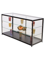"Retail Display Counter with LED Lights, 23.75"" Overall Depth"