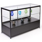 "Lighted Glass Display Counter, 23.75"" Overall Depth"