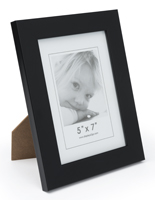 Black 5x7 Display Frame for Prints