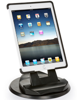 Handheld Ipad Air Case with Black Mount