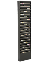 metal wall file holder. Metal Black Finish Wall File Holder A