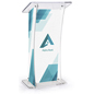 UV Modern Lectern with Custom Design for Conventions
