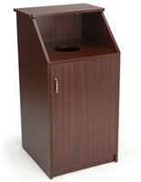 Top Drop Waste Receptacle Accommodates a 36 Gallon Liner