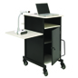 Document Camera Cart with CPU Holder