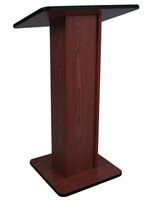"Scratch Resistant Lectern, 21"" Overall Width"