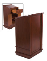Hostess Stands For Restaurants Pedestal And Valet Style