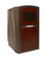 Mahogany Rolling Outdoor Podium